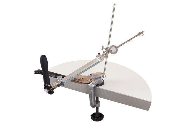 Точило+4 камня/Точилка для ножей/Точильный станок/Заточная/Система