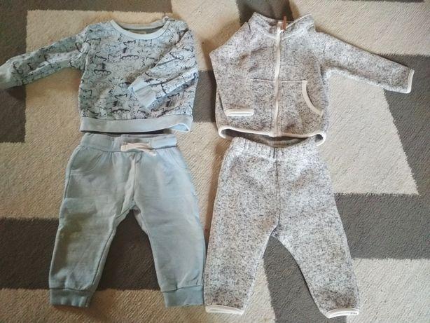 Zestaw komplet H&M r.68 bluza spodnie