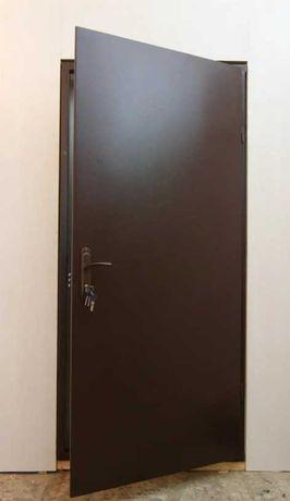 Установка входных железных дверей