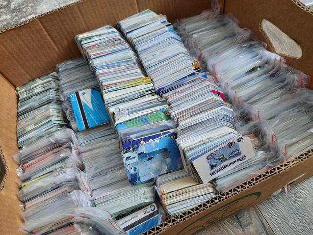Karty telefoniczne dla kolekcjonera  25kilogramów