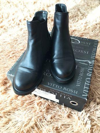 Стильные кожанные ботинки фирма Vitto Rossi