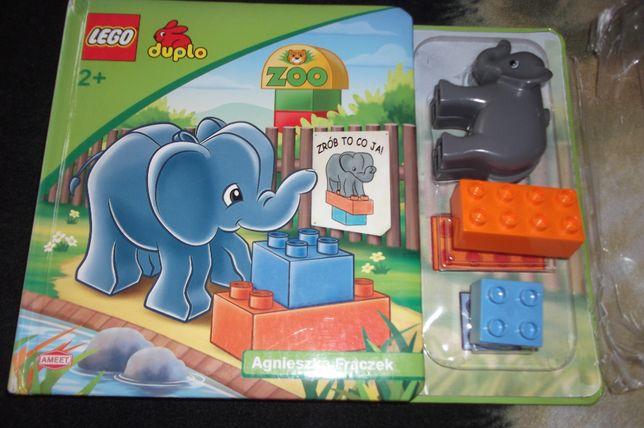 Bajka / książeczka z klockami LEGO DUPLO Zoo Agnieszka Frączek