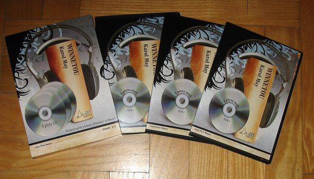 Karol May Winnetou. Audiobook 3 x CD MP3. Pełne wydanie. Prawie 50 h