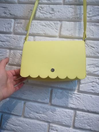 Nowa Torebka torebki żółta kanarkowa Reserved