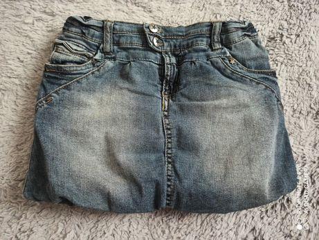 Spódniczka jeansowa, bombka. Rozm. 134. Reserved