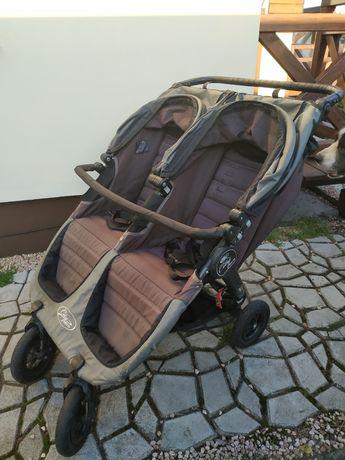 Wózek podwójny baby jogger city mini gt
