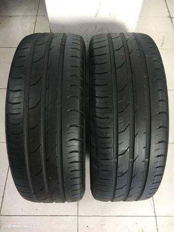 2 pneus continental 195-55-16 Oferta da entrega