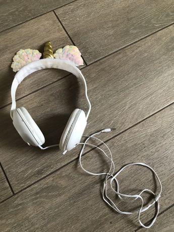 Słuchawki jednorożec