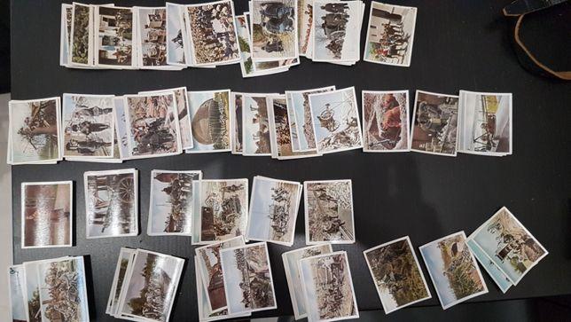 Przedwojenne karty kolekcjonerskie I wojna, Wehrmacht, znane postaci
