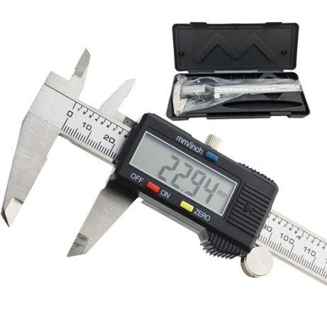Электронный металлический штангенциркуль с LCD Digital caliper 150MM