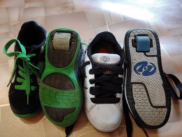 Кроссовки ролики, роликовые кроссовки 33 р. 20 см