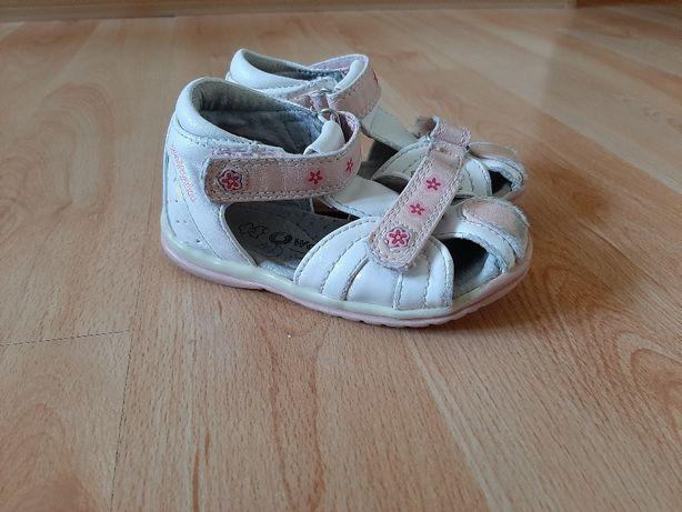 sandały sandałki 23 dziecięce Wojtyłko dziewczęce