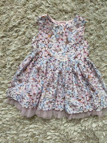 Шикарное платье F&F на 1,5-2 года