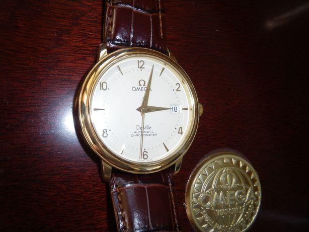 Omega De Ville золотые часы