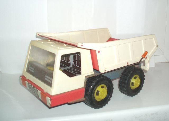 Игрушка СССР самосвал грузовик Черноморская игрушка Одесса клеймо