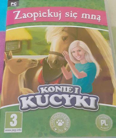 Gra na PC Zaopiekuj się mną Konie i kucyki CD PL
