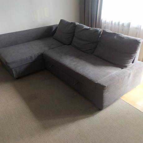 Sofa rogówka ,rozkładana Ikea
