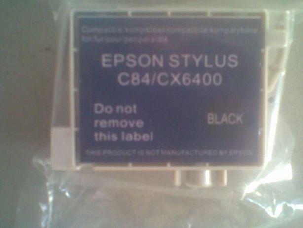 Картридж Epson Stylus C84\CX6400 Black