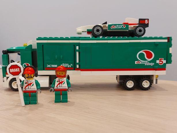 Lego City ciężarówka ekipy wyścigowej