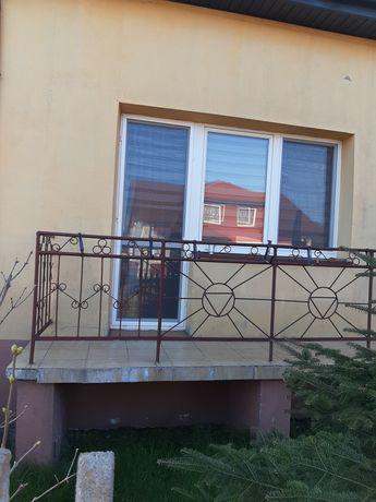 Okno balkonowe z demontażu