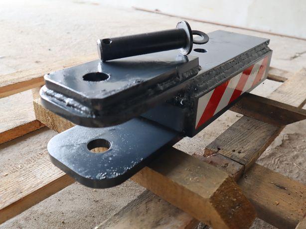 Zaczep do przyczep wózek widłowy ładowarka