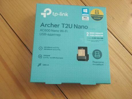 Archer T2U Nano AC600 Wi-Fi USB-адаптер