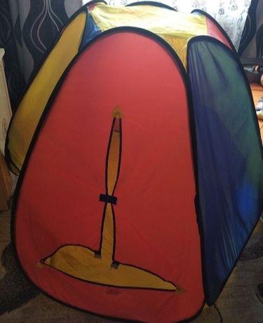 Детская палатка для деток домик
