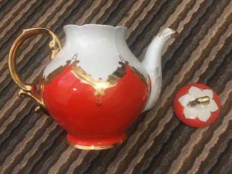 Чайник заварник Бутон Барановский фарфор
