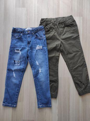 Брюки штаны джинсы Piazza Italia, штаны утеплённые 110/116