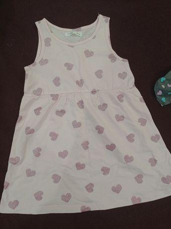 Детское платье fox & bunny 98