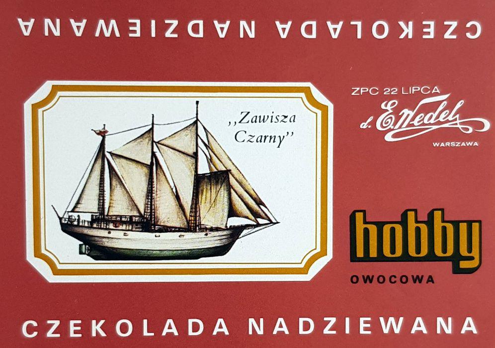 Hobby Wedel Opakowania czekolad - Seria F - Okręty Warszawa - image 1
