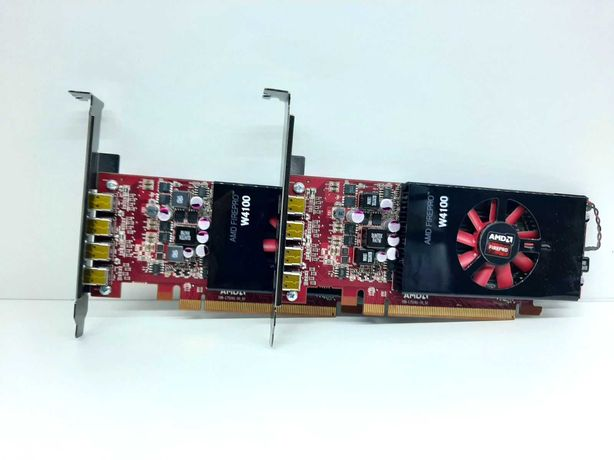 Видеокарта AMD FIREPRO W4100 GDDR5 128bit 2Gb Гарантия, DirectX 12