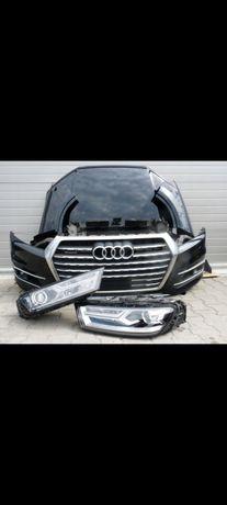 Разборка Audi Q7 4m 2015-2020 бампер,фары, дверь, четверть,ляда