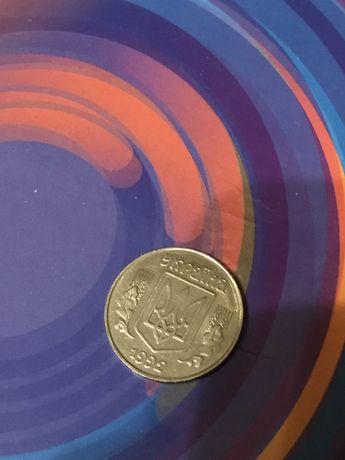 Монета 5 копеек 1992г