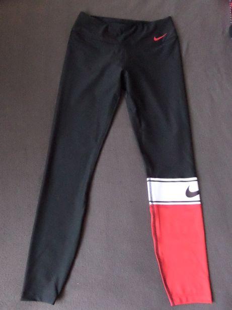LEGGINSY NIKE DRI FIT spodnie dresowe Nowe Nowa Kolekcja Unikat L/XL !