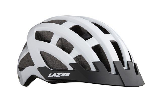 Vendo capacete Lazer Compact branco