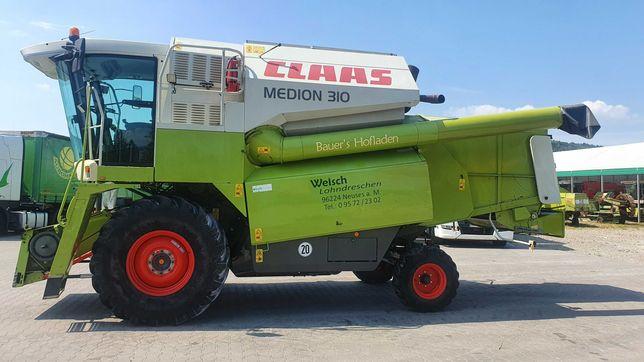 Kombajn zbożowy Claas Medion 310 z Niemiec