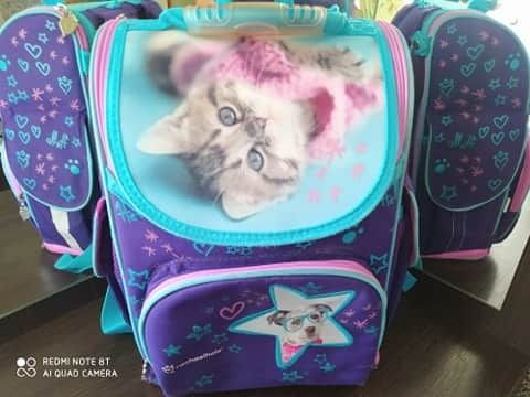 Рюкзак школьный портфель Kite кайт Rachael Hale R18-500S Котик ідеал