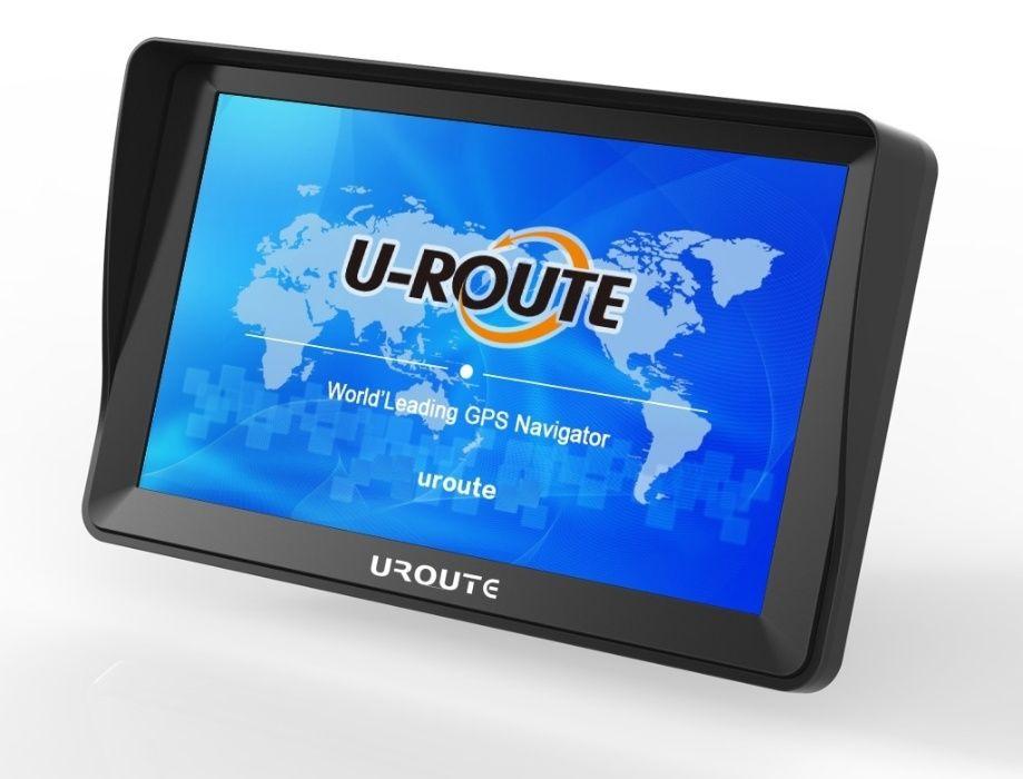 """Nawigacja GPS UROUTE 7"""" 84F8 iGO TRUCK. Wysoka jasność ekranu!"""