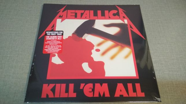 Metallica : Kill 'Em All LP/Виниловая пластинка