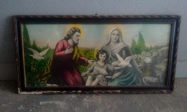 Kolekcjonerskie obrazy religijne Cena 99,99zł za 2 sztuki