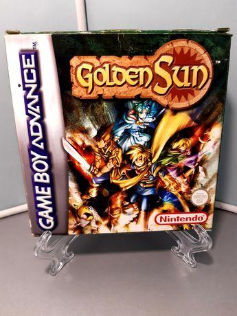 Jogo Golden Sun para Game Boy Advance/GBA (Nintendo, RPG, Camelot,CIB)