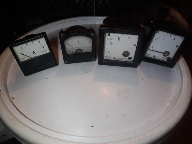 Amperomierze zegary