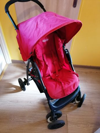 Wózek spacerowy Graco+ocieplacz.