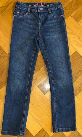 Джинси для дівчинки 6-7 років, 116-122 см