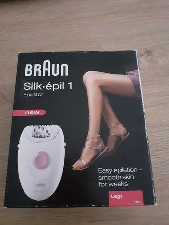 Braun silkepil 1 depilator nowy