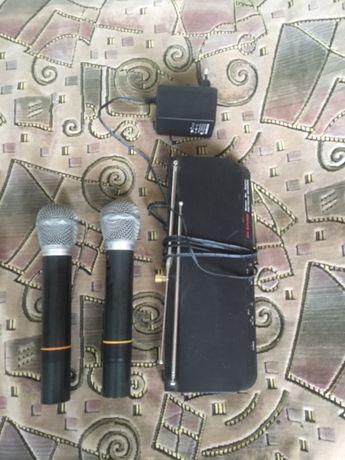 Микрофоны с радиостанцией