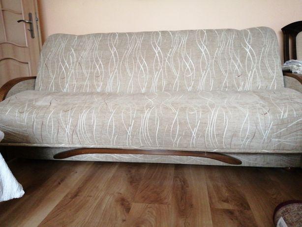 Duża Wersalka, sofa, 206 cm dl, Solidna, sprężyny