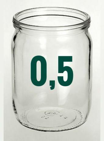 Продам 0.5 , 1 , 3 л  баночки стекло