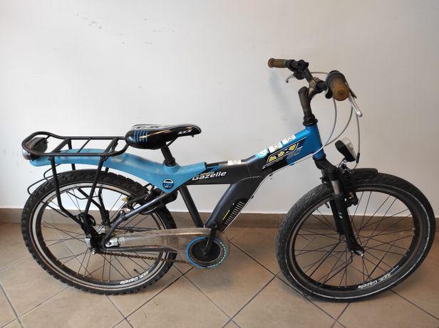 Dziecięcy Rower holenderski GAZELLE + AMORTYZATOR 24'